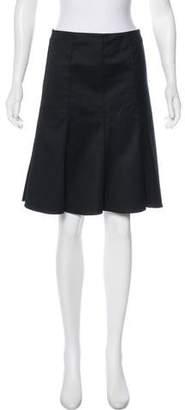 Akris Punto Knee-Length A-Line Skirt