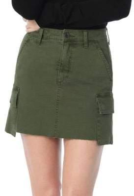 Joe's Jeans Cargo Mini Skirt