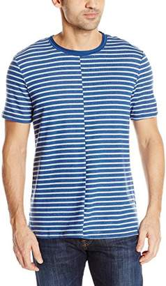 William Rast Men's Jake Stripe Knit Tee Shirt