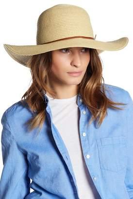 True Religion Floppy Braid Straw Hat