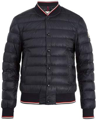 Moncler Aubry quilted down bomber jacket