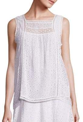 Joie Charis Eyelet Blouse