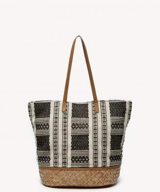 Sole Society Jaam Tote Oversize Fabric Tote