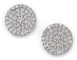Bloomingdale's Diamond Disc Stud Earrings in 14K White Gold, 1.0 ct. t.w.