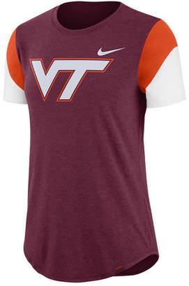 Nike Women's Virginia Tech Hokies Tri-Blend Fan T-Shirt