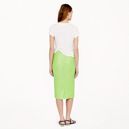 J.Crew Collection No. 2 pencil skirt in sequins