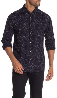 Velvet by Graham & Spencer Johnnie Lightning Bolt Print Regular Fit Shirt