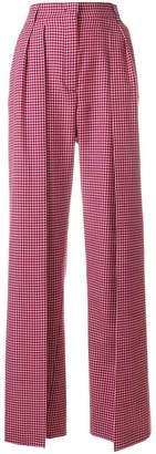 Fendi high-waist flared trousers
