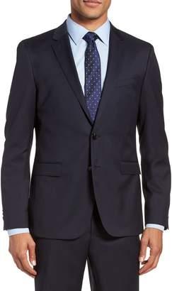 BOSS Ryan CYL Extra Trim Fit Solid Wool Blazer