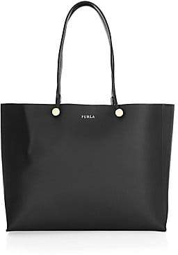 Furla Women's Eden Smooth Leather Logo Tote