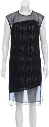 Helmut Lang Knee-Length Silk Dress