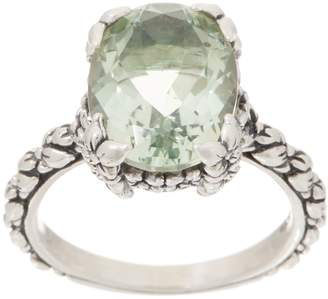 Stephen Dweck Sterling Silver Oval Gemstone Ring, 4.70 - 6.20cttw