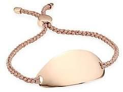 Monica Vinader Nura 18K Rose-Gold Plated Friendship Bracelet