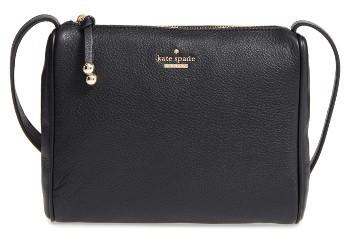 Kate SpadeKate Spade New York Lombard Street - Cayli Leather Crossbody Bag - Black