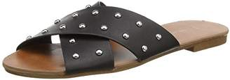 New Look Women's Franking 5143985 Flatform Sandals (Black), 39 EU