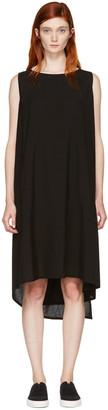 Yohji Yamamoto Black Hard Twist Dress $1,950 thestylecure.com