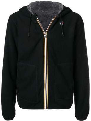 K-Way short hooded jacket