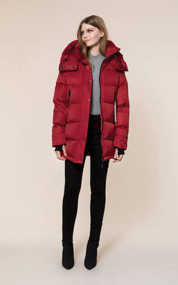 Soia & Kyo MARILEE water-repellent sporty down jacket with large hood