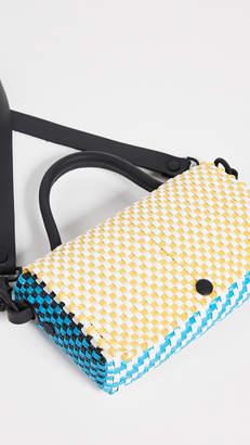 Truss Top Handle Crossbody Bag