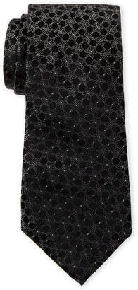 Calvin Klein Star Medallion Silk Tie