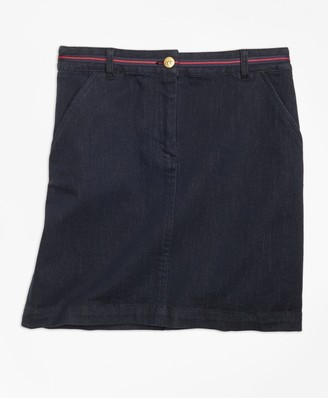 Brooks Brothers Girls Denim Skirt