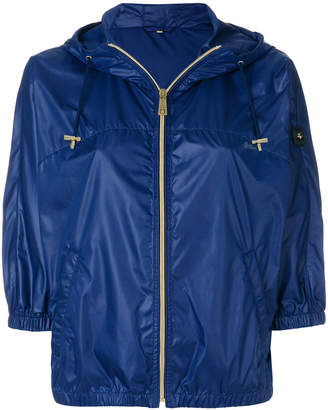 Fay cropped hood jacket