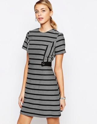 Oasis Stripe Shift Dress $99 thestylecure.com