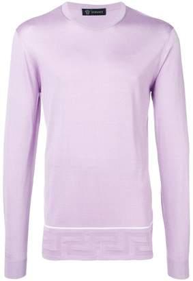 Versace crew neck sweater