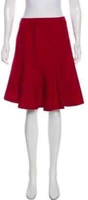 Alaia A-Line Knee-Length Skirt