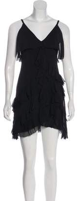 Alice + Olivia Ruffled Mini Dress