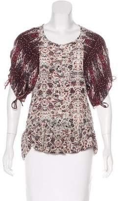 Etoile Isabel Marant Silk Printed Blouse
