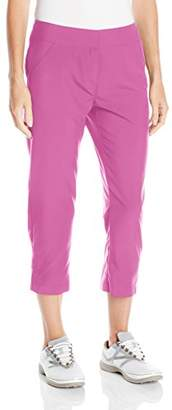 "PGA TOUR Women's 26"" Comfort Stretch Solid Woven Capri"