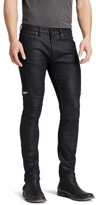HUGO Jeans - 45 Moto Slim Fit in Black