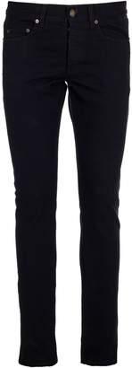 Saint Laurent Ribbed Velvet Slim-fit Pants
