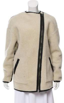 Rebecca Minkoff Reversible Faux Shearling Coat