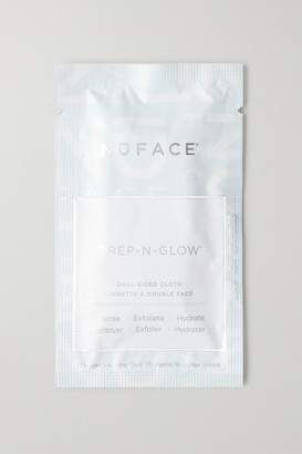 NuFace Prep-n-glow Cleansing Cloths X 20 - Colorless