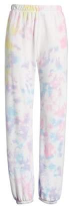 Wildfox Couture Aura Tie Dye Easy Sweatpants