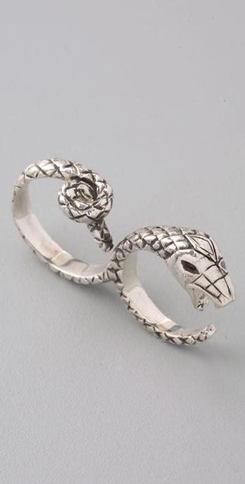 Pamela Love Double Snake Ring