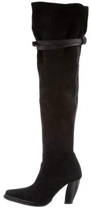 Donald J Pliner Suede Over-The-Knee Boots