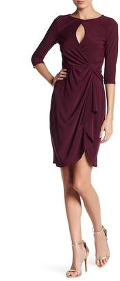 Just For Wraps Keyhole Twist Front Dress
