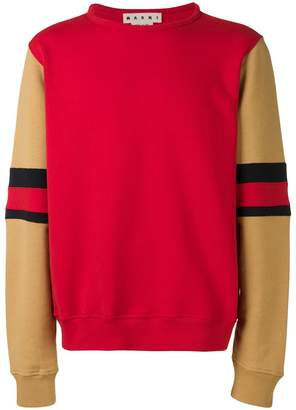 Marni striped sleeves jumper