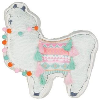 Waverly Kids La La Llama Novelty Throw Pillow