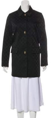 Salvatore Ferragamo Collared Short Coat