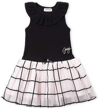 Juicy Couture Girls 4-6x) Bow Tulle Skirt Dress
