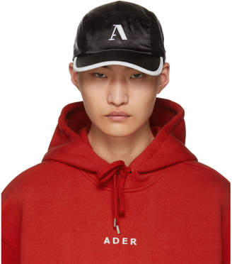 ADER error Black Side-Snap Camp Cap