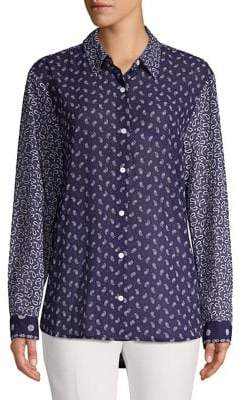 MICHAEL Michael Kors Paisley Button-Down Shirt