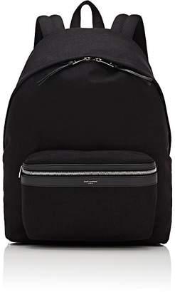 Saint Laurent Men's Canvas Classic Backpack
