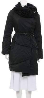 Ermanno Scervino Applique'-Accented Puffer Coat