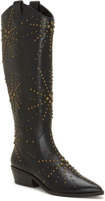 199cdfaaa92 1 STATE 1.STATE Sabylla Studded Western Boot
