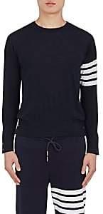 Thom Browne Men's Block-Striped Wool Sweater - Navy